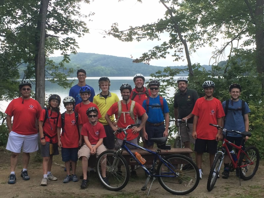 Troop 1 Bike Tour 2014
