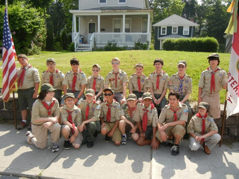 Troop 1 Memorial Day Parade 2012