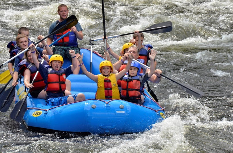 Troop 1 White Water Rafting 2014